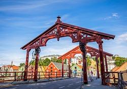 Trondheim - famous bridge