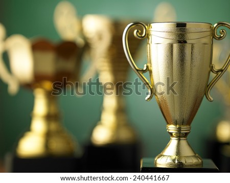 trophy for champion