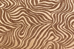 Tropical African fur texture. Exotic background. Beige brown background. Pattern, nature background, tribal ornament