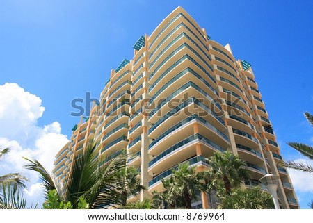 Tropical Apartment Building