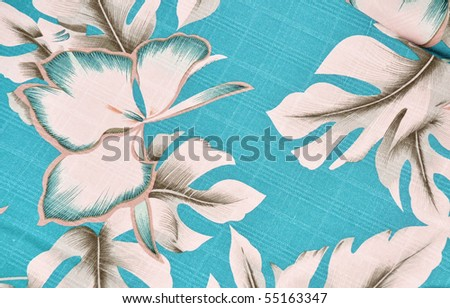 Tropical background pattern / design