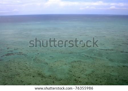 Tropical Batt Reef off the coast of Port Douglas, far north Queensland, Australia