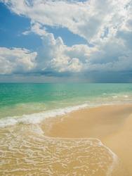 Tropical beach in Koh Samui Thailand