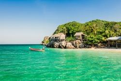 Tropical beach in summer, Andaman Sea, Thailand