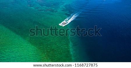 Tropical beach landscape for Banner Website