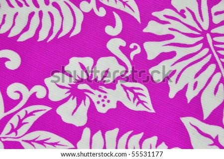 Tropical design useful as a background pattern