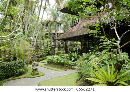 Tropical Gardens in Bali