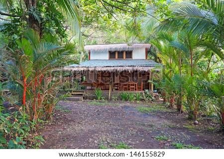 Tropical home on the Caribbean coast of Costa Rica, Manzanillo, Central America