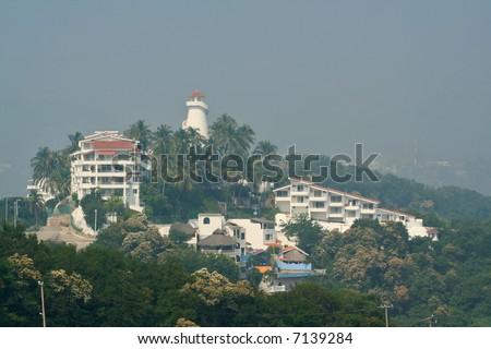 Tropical hotel resort