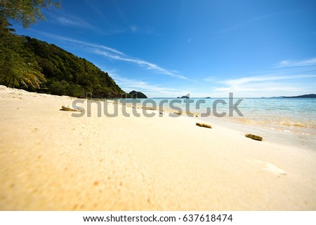 Tropical Island Beach #637618474