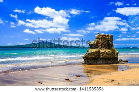 Tropical island beach rock scene. Tropical island beach rock. Beach rock tropical island. Tropical island beach rock landscape #1411585856