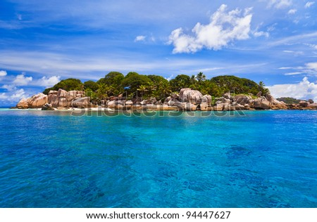 Tropical island - nature background