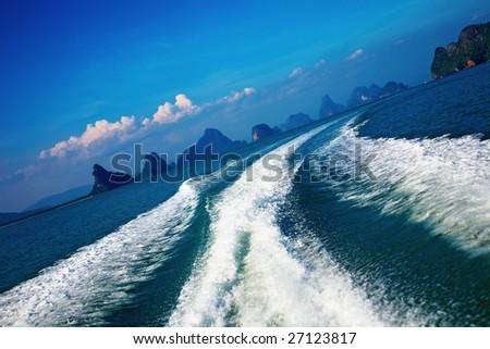 Tropical islands, Andaman sea, Thailand