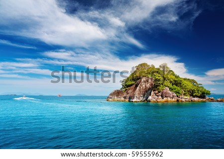 Tropical islands, Trat archipelago, Thailand