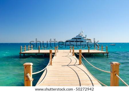 tropical pier #50272942