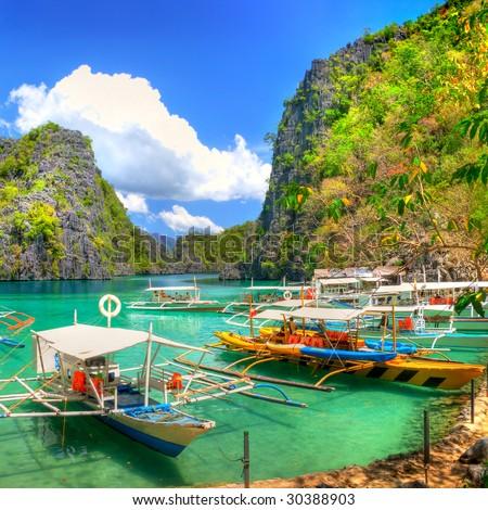 tropical recreations - Shutterstock ID 30388903