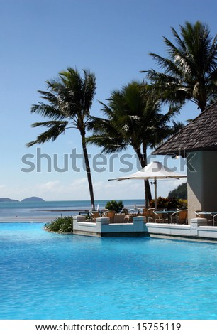 Tropical Resort in Hamilton Island, Great Barrier Reef, Australia