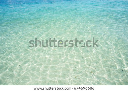 tropical seascape  for spring summer background