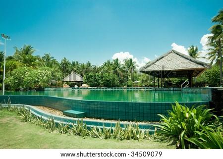 tropical  spa pool outdoor photo (Hainan,China)