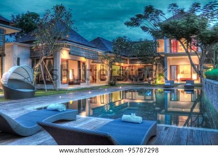 Tropical villa #95787298