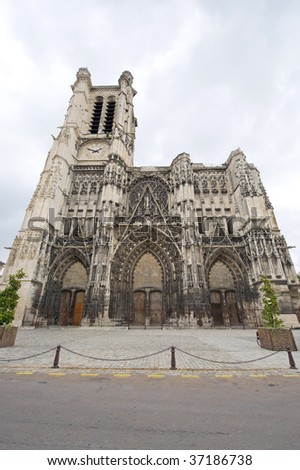 Troyes (Aube, Champagne-Ardenne, France) - Ancient cathedral, in gothic style