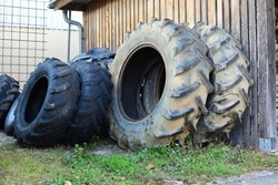 Truck and tractor tires