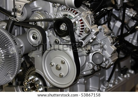 Truck engine #53867158