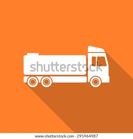 Royalty free truck blue web flat design circle icon for Truck design app