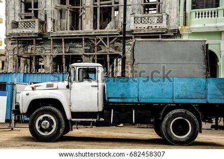 Truck in Havana, Cuba