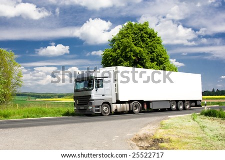truck on road 8.