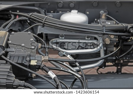 Truck technical system, brake system, electrical system #1423606154