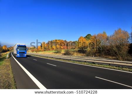 Truck transportation #510724228