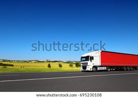 Truck transportation #695230108