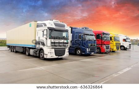 Truck, transportation, Freight cargo transport, Shipping