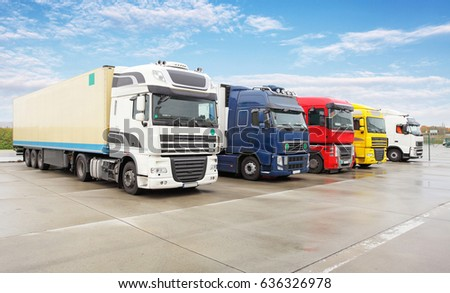 Truck, transportation, Freight cargo transport, Shipping #636326978