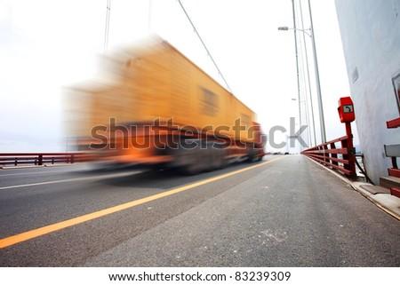 trunk on bridge