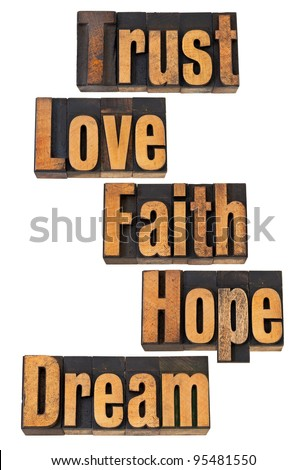 Love Is Trust and Faith