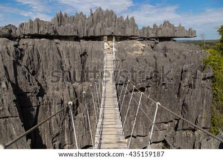 Tsingy de Bemaraha National Park, Madagascar Photo stock ©