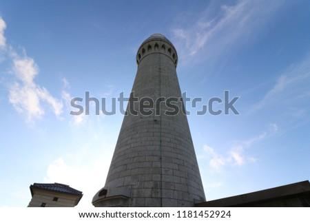 Tsunoshima Lighthouse, Yamaguchi Prefecture, Japan Stock photo ©