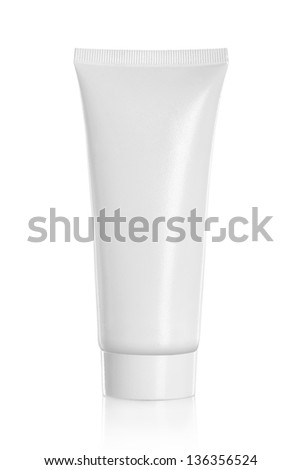 Tube Of Cream Or Gel white plastic product for another perfect white container product and packaging please visit my portfolio