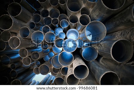 Tubes abstract background