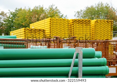 tubes and other building materials