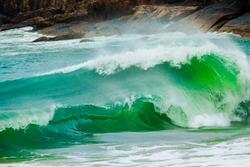 Tubes on Brazilian beaches Surf