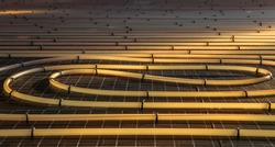 Tubing are elements of radiant floor heating system