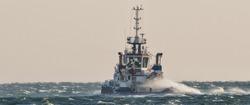 TUGBOAT - Ship on the storm sea