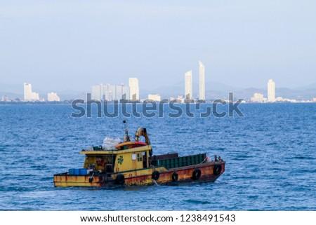tugboat tug boat Root boat Boat boat  #1238491543