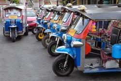 Tuk Tuk Parking