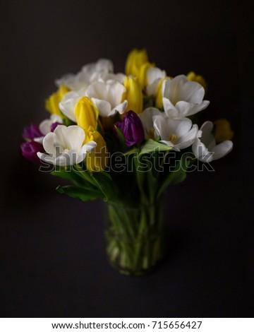 Tulips in the vase #715656427