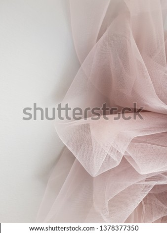Tulle, Fabric, Pink tulle, Pink fabric, Fabric texture, Tulle texture, Soft pink material, Tulle close up, Fabric close, up, Pale pink, Powder, Blush