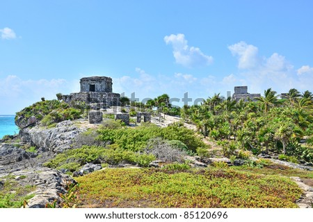 Tulum, Mexico - Mayan ruins